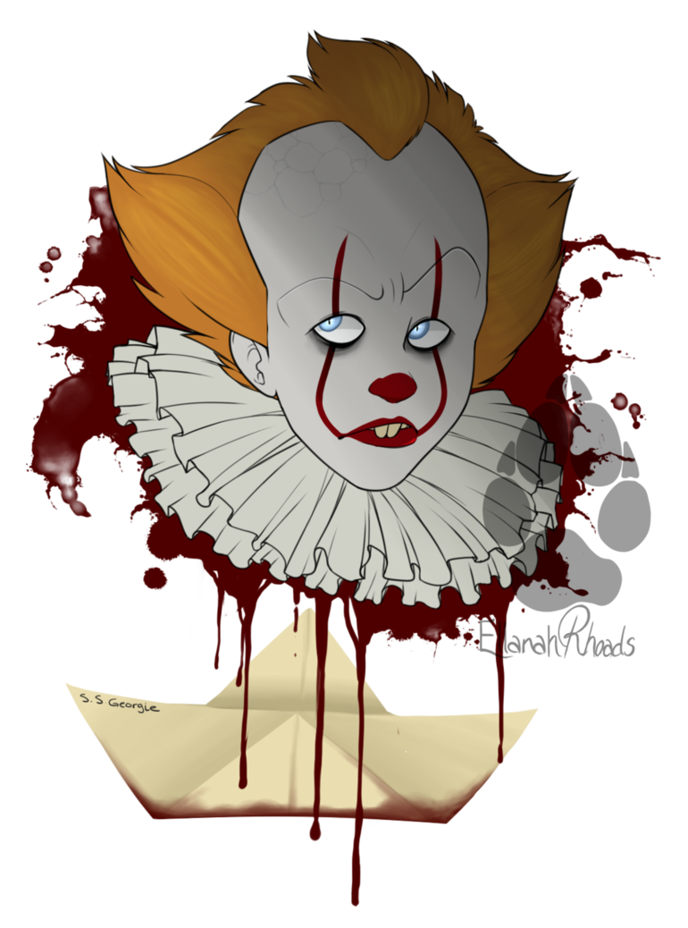 Spiders drawing pennywise. It by potatobug may