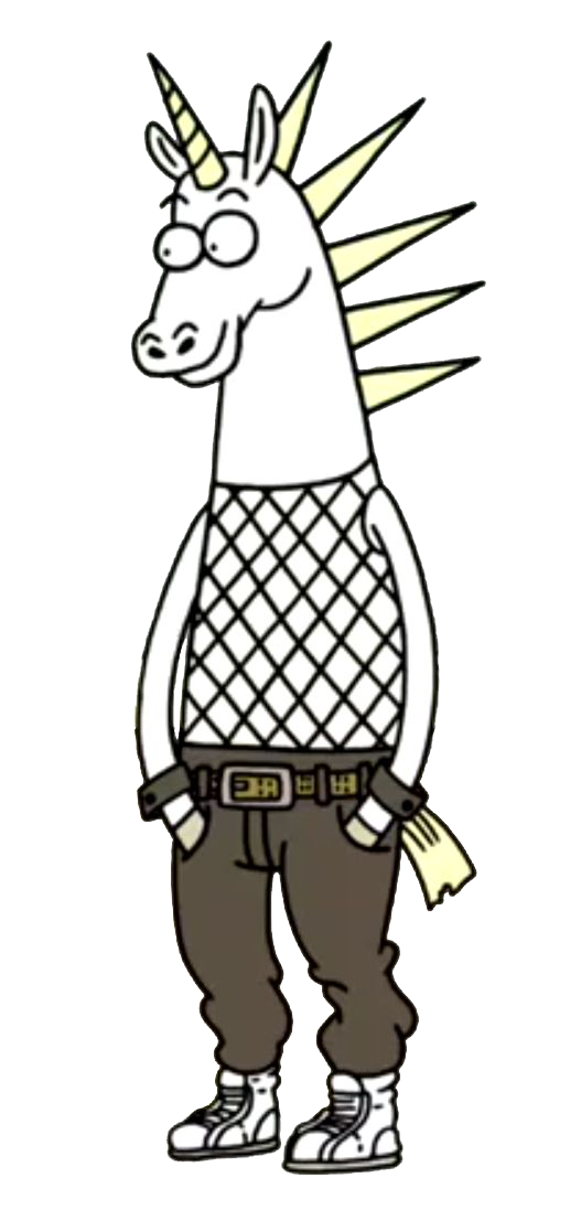 Drawing unicorns male. Regular show wiki fandom