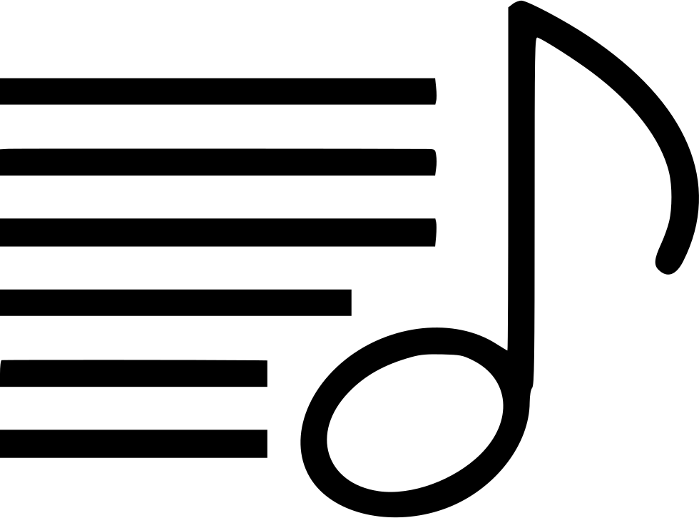 Png white music note. List text key song