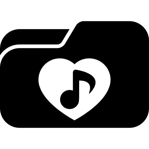 Love folder icons free. Clip songs dow graphic royalty free download