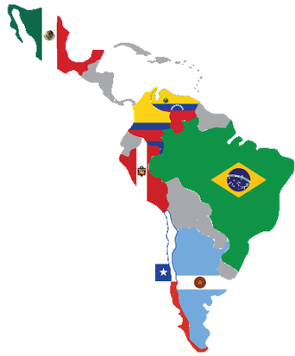 Latin America Flags Transparent Png Clipart Free Download Ya