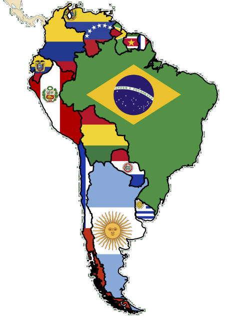 Latin america png. Great international resources for
