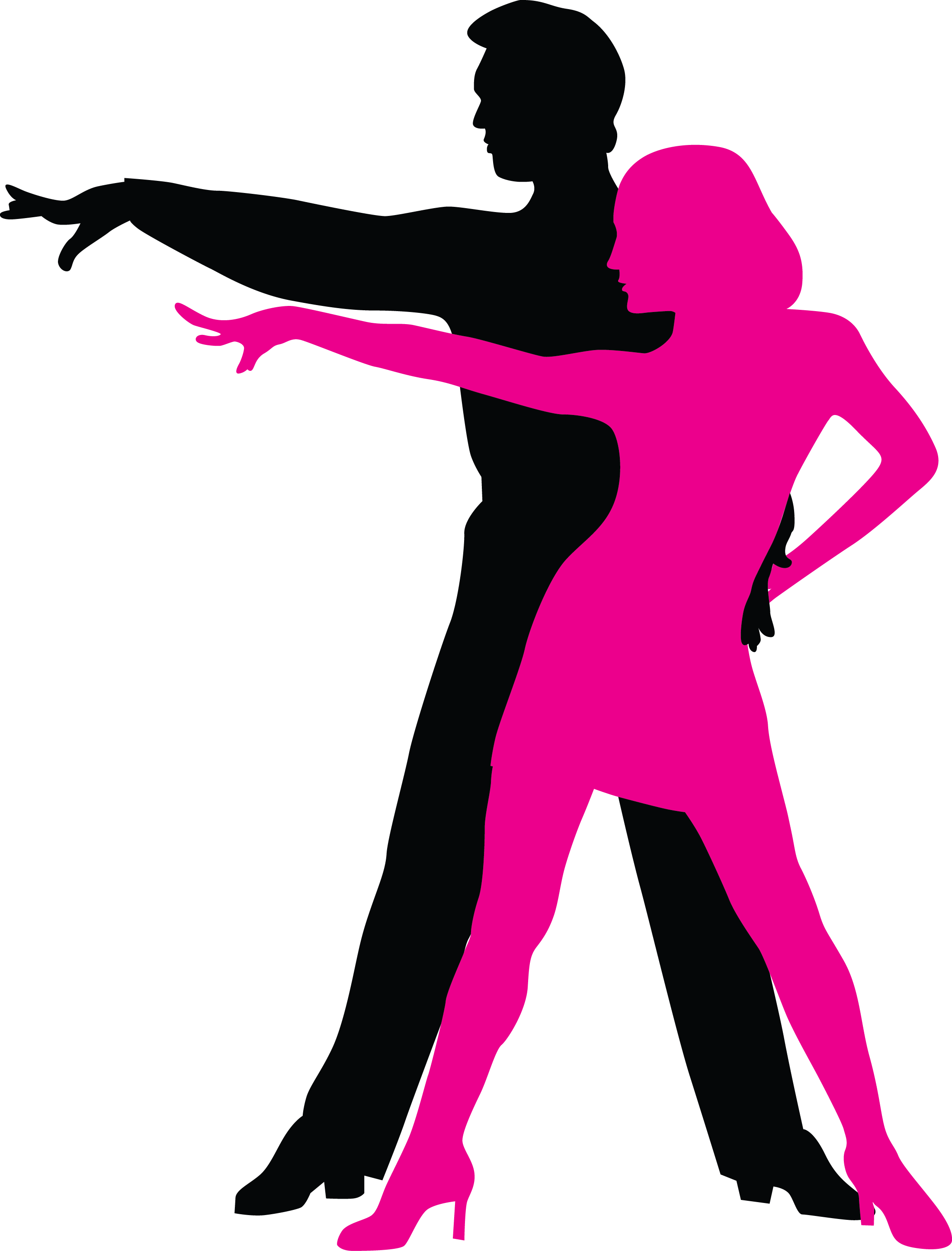Latin dancer silhouette at. Dance clipart graphic library