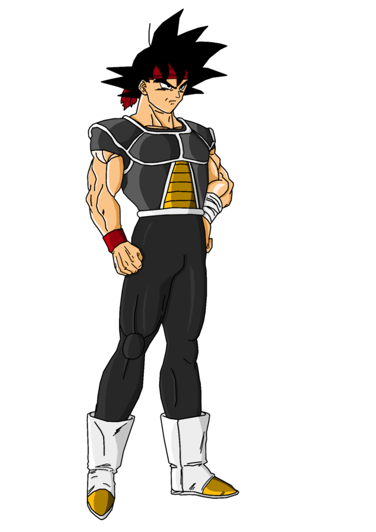 Latino drawing chest. Imagen bardock dbm png