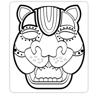 Latino Drawing Mask Transparent Png Clipart Free Download
