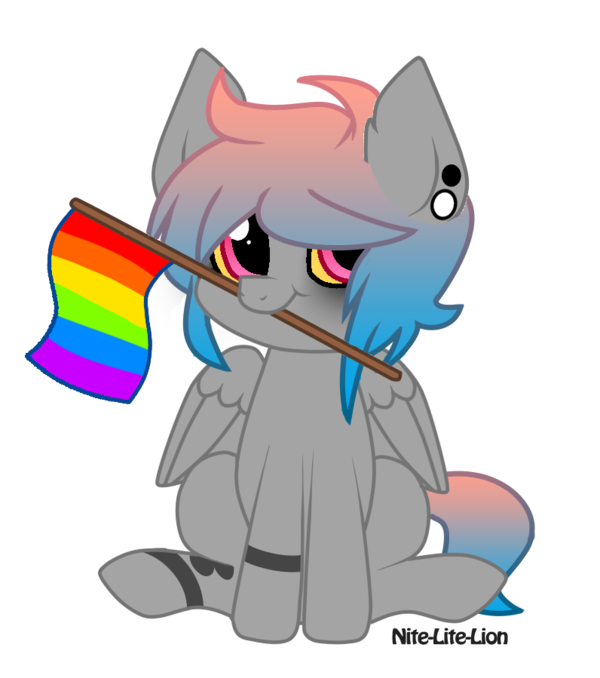Androgynous drawing lgbtq pride. Lgbt typee by toybonnie