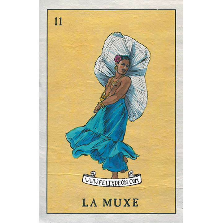 La muxe and gender. Latino drawing queer svg library stock