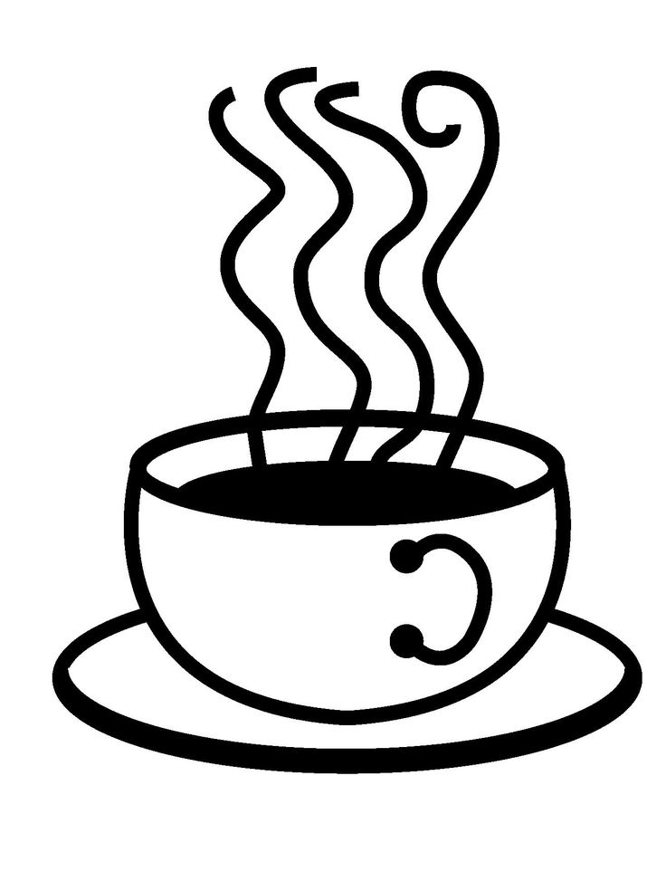 Latte clipart coffee drawing. Stone at getdrawings com