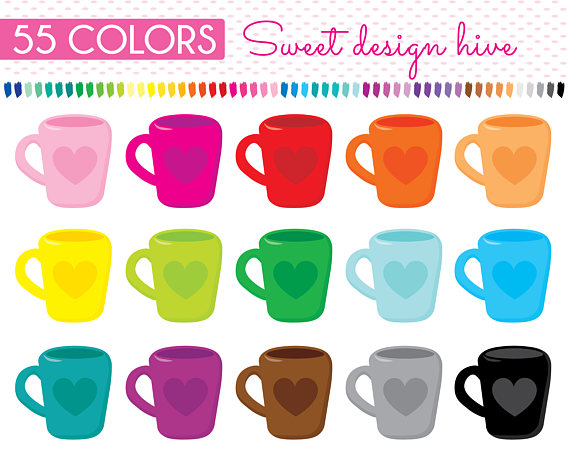 Latte clipart coffee tea. Mug cup dishes planner