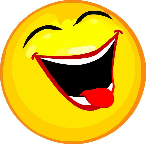 laughing clipart