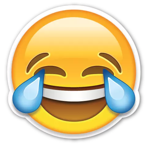 Laugh crying emoji png. Laughing free icons and