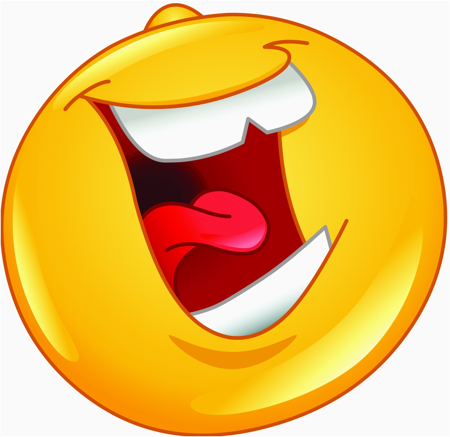 Laughing clipart cartoon. Awesome gold star emoji