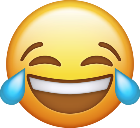 Laughing crying emoji png. Download tears iphone icon