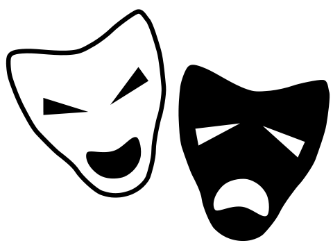 Laughing mask png. Ice cube laugh now