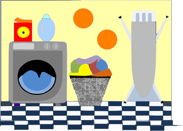 Laundry clipart laundry room. Clip art at clker