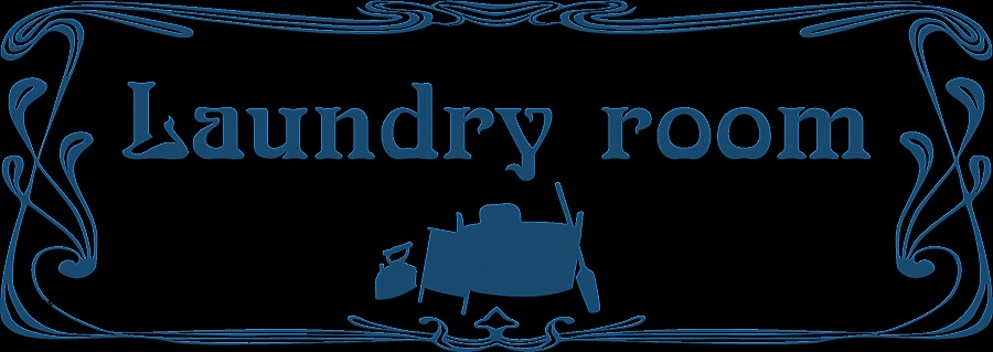 Laundry clipart laundry sign. Room art work fresh