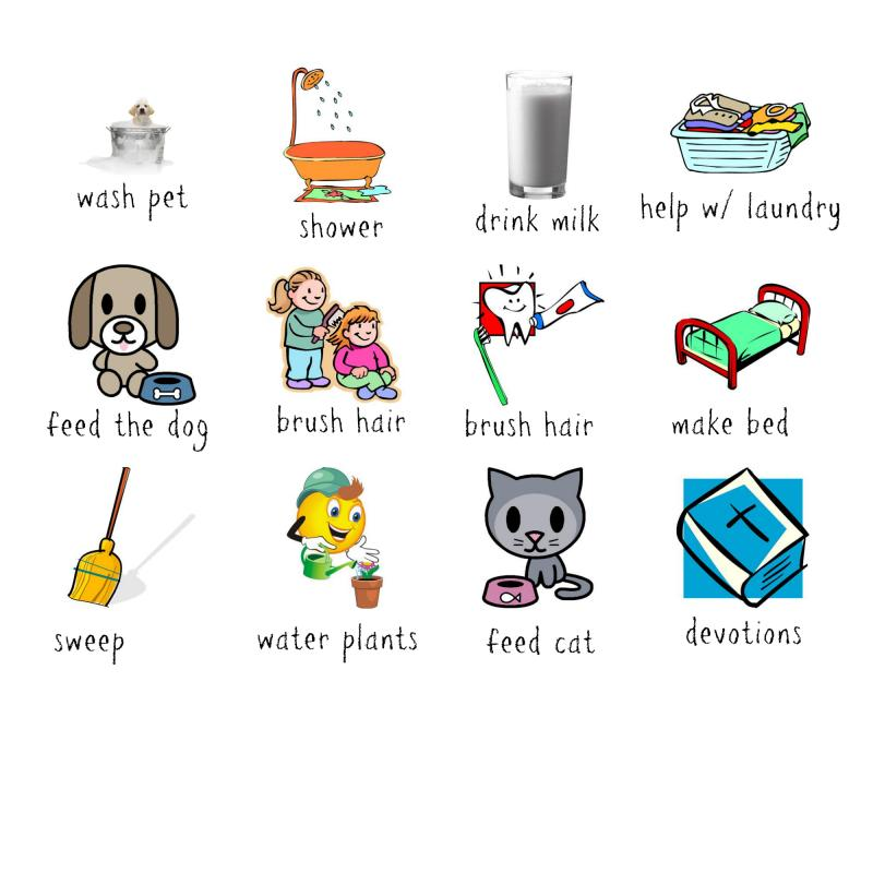 Laundry clipart responsibilty. Chores hubpicture pin