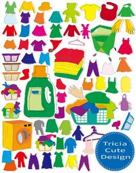 Laundry clipart used clothes. Clip art can be