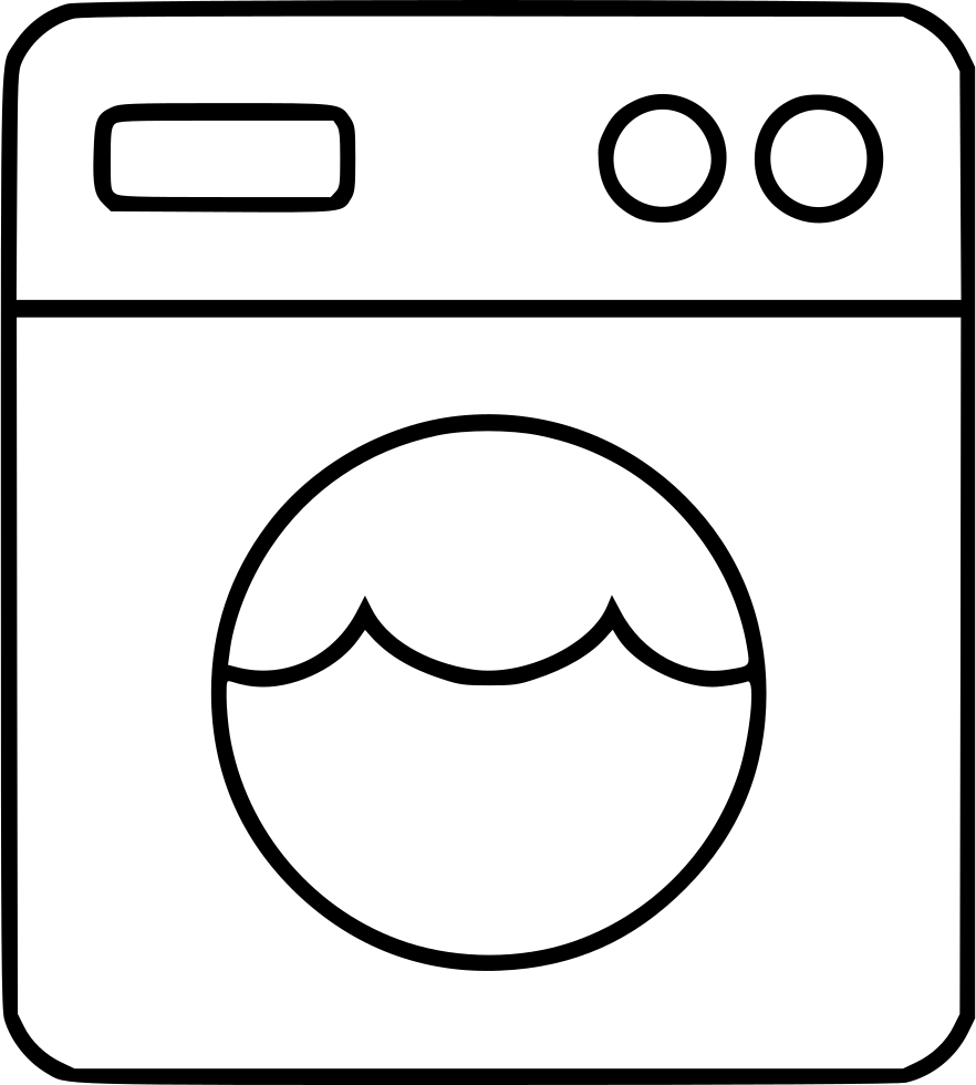 Laundry drawing icon. Svg png free download