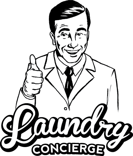 Laundry drawing man. Concierge on twitter with
