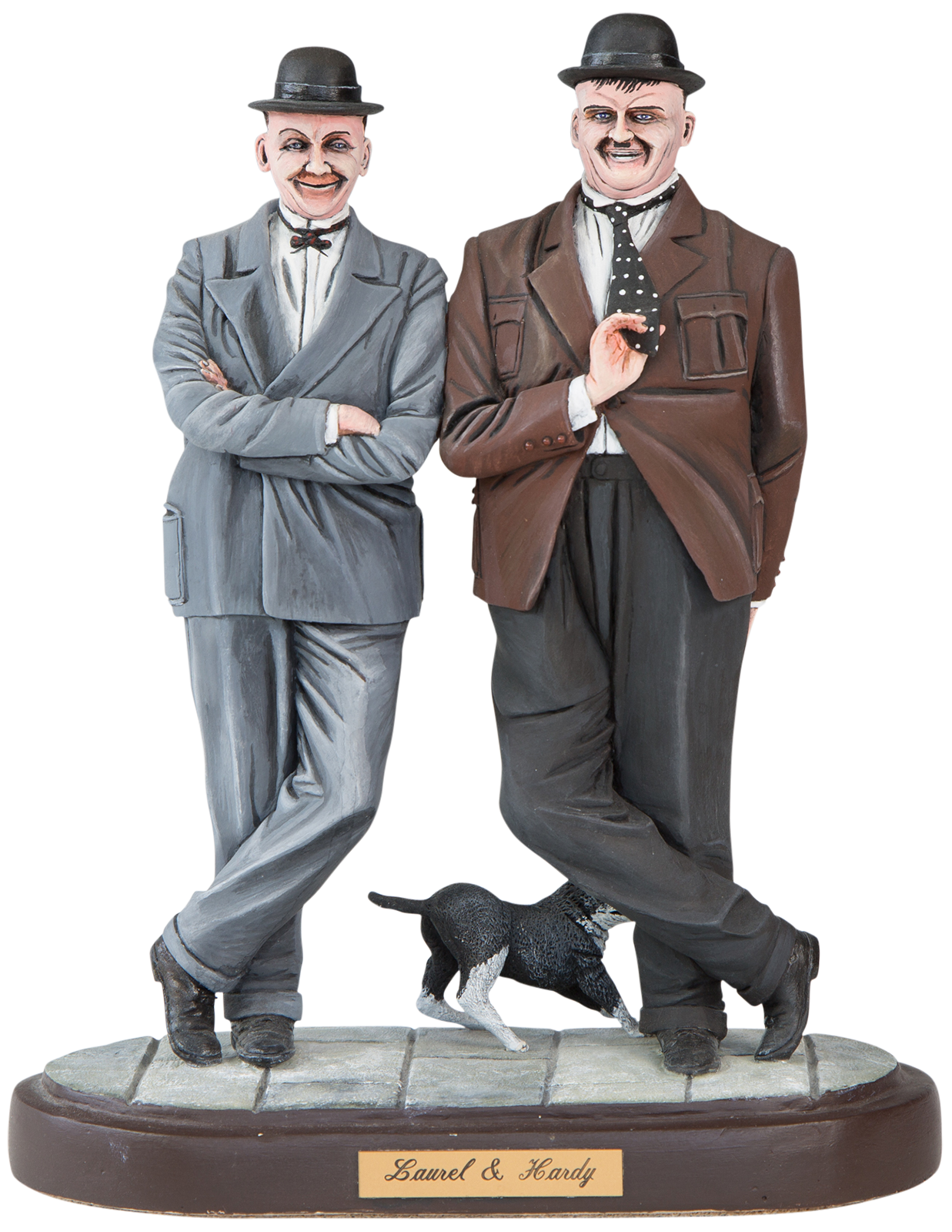 Laurel and hardy png. Michael welch sculptures tv