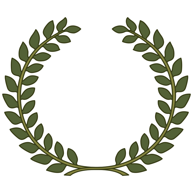 Free wreath leaf joaolima. Laurel clipart transparent