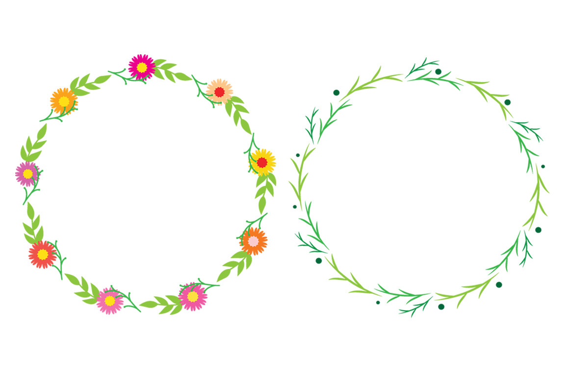 Wreaths vector by aivos. Laurel clipart floral svg freeuse