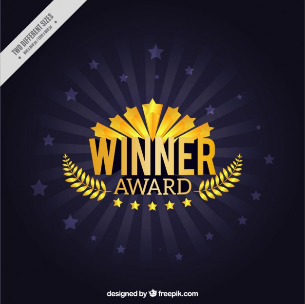 Winner award with wreath. Laurel clipart years service awards vector black and white download