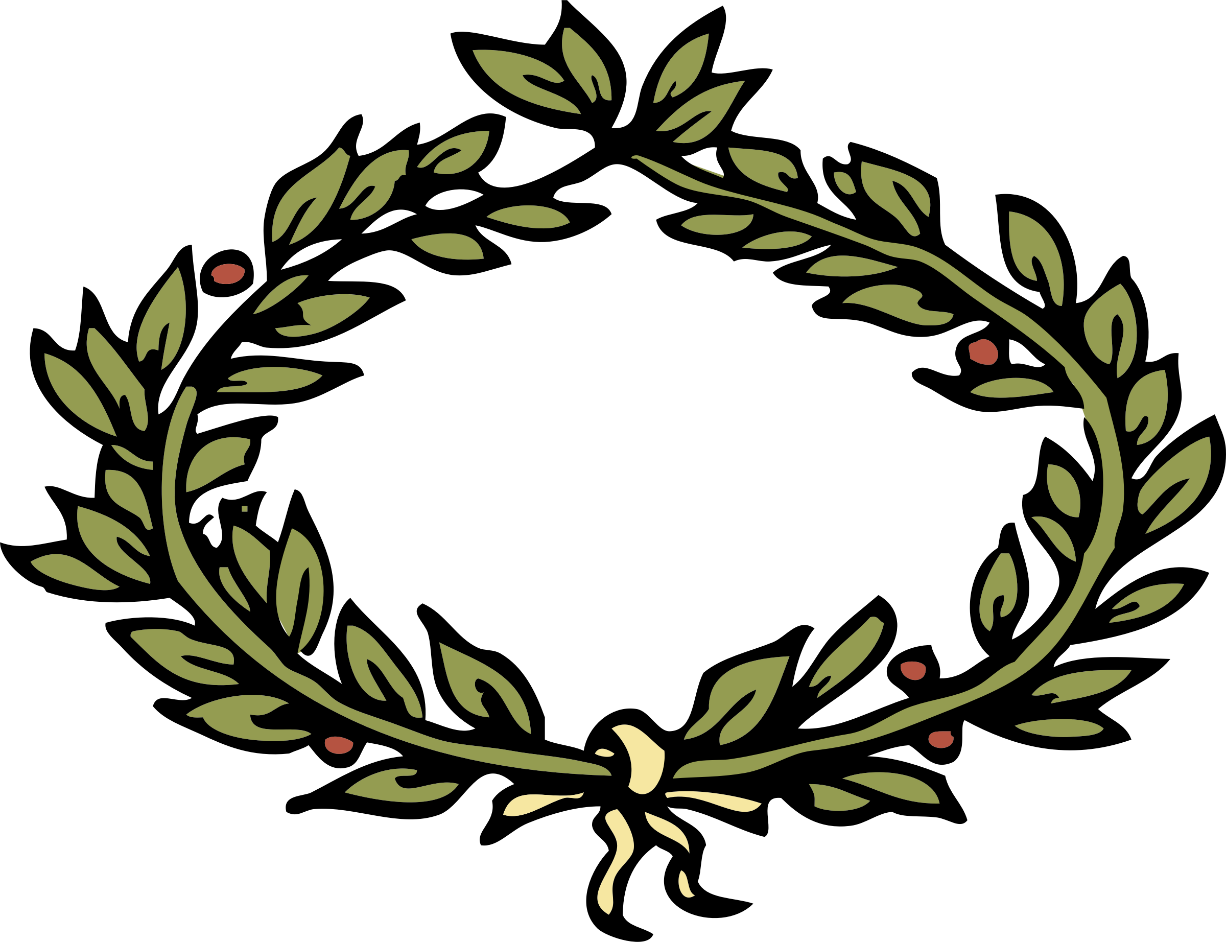 Laurel crown png. Icons free and downloads