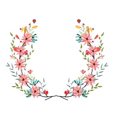 Botanical vector floral wreath. Pin by nona on