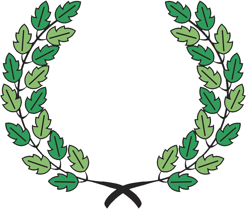 Laurel leaf png. Mtc global trust wreath