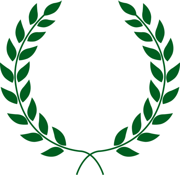 Laurel wreath official psds. Leave vector psd clip royalty free