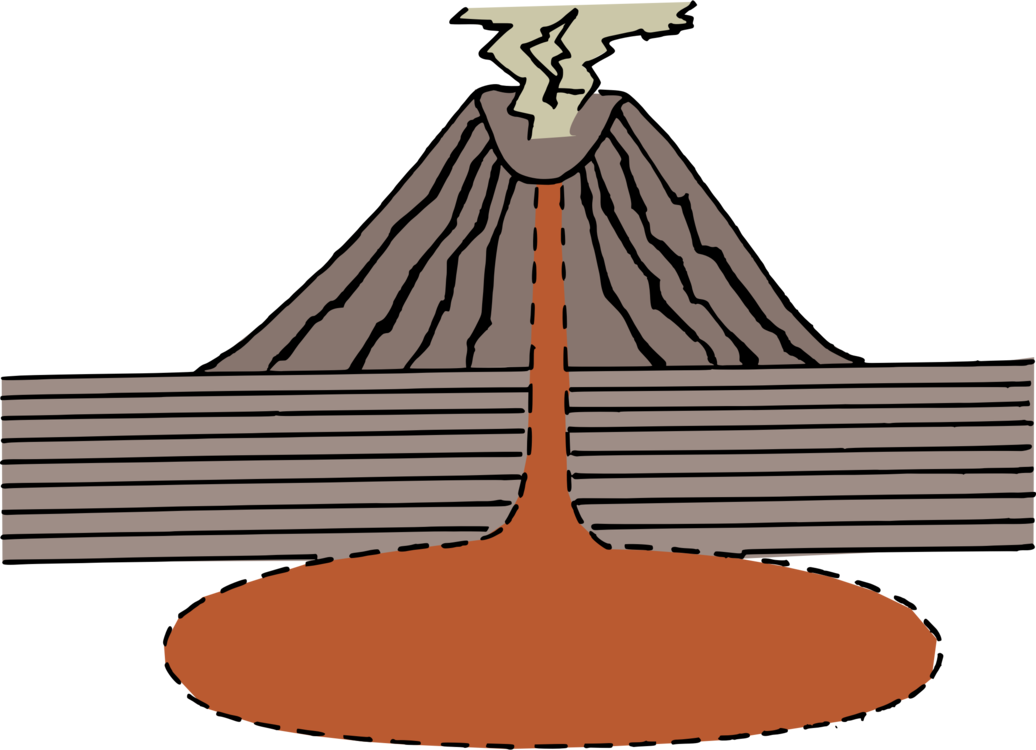 Lava vector volcano. Computer icons download free