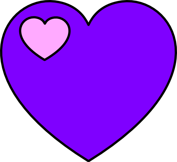 Lavender heart png. And pink clip art