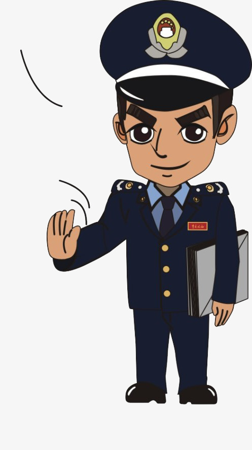 Law clipart cartoon. Enforcement personnel material police