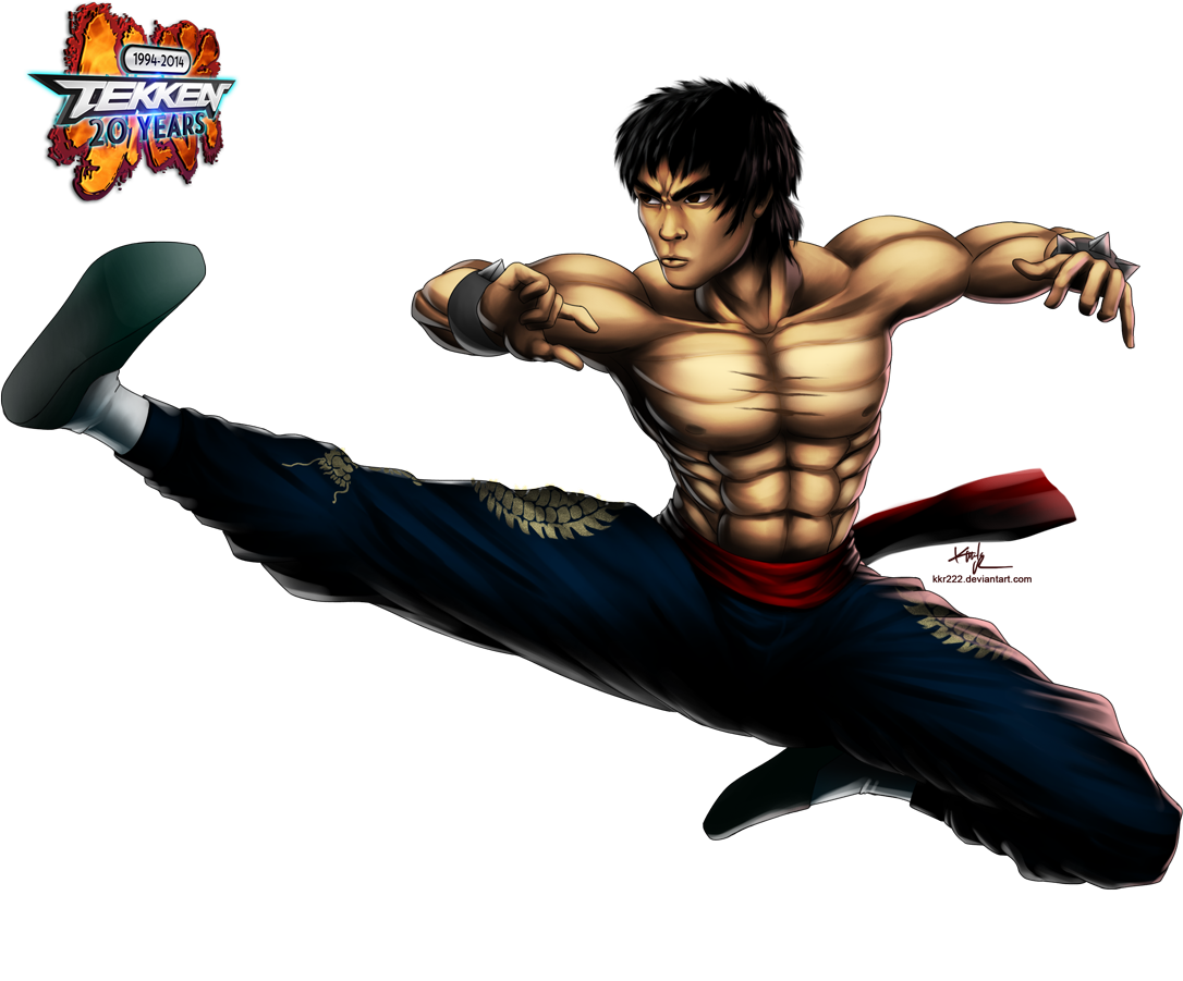 Law drawing tekken 3. Years of marshall