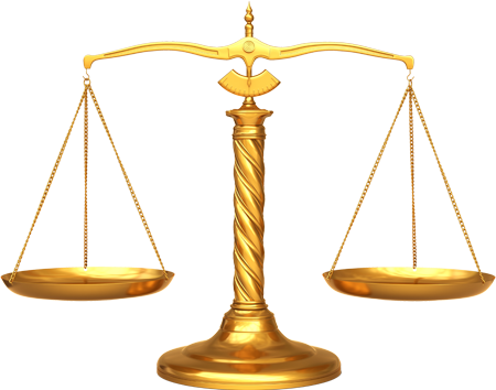Transparent scales legal. Images of law scale