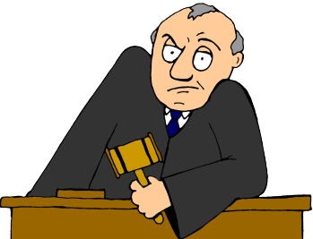 Law transparent cartoon. Legal opinion the dr