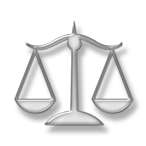 Law transparent weigher. Scale icons png vector
