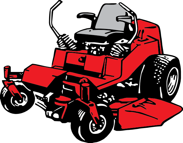 lawn mower clipart ride on
