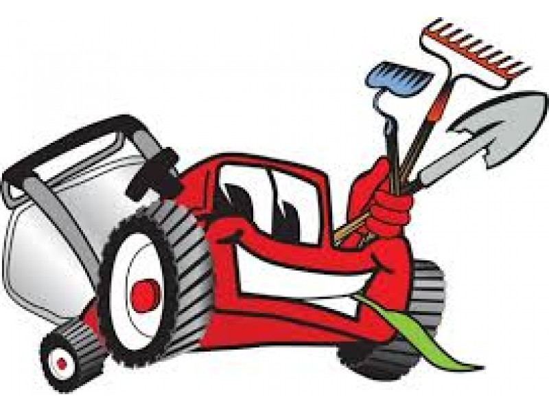 Lawn care clipart landscaping maintenance. Yard services spring clean