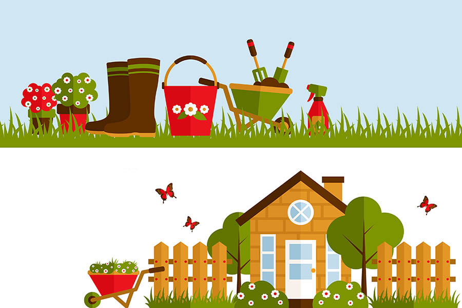 Lawn care clipart spring. And garden for canadians