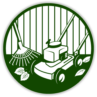 mowing clipart vector