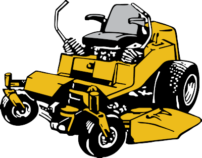 Mower commercial mowing clipartix. Lawn care clipart zero turn png black and white library