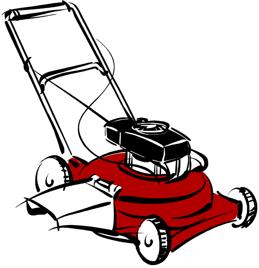 Free mowing cliparts download. Lawn mower clipart image download