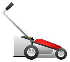 Mowing clipart lawn equipment. Mower clip art out