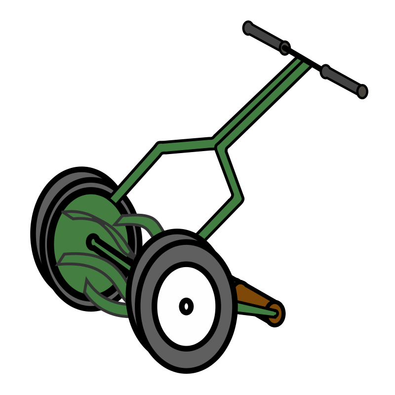 Free mowing download clip. Lawn mower clipart graphic black and white