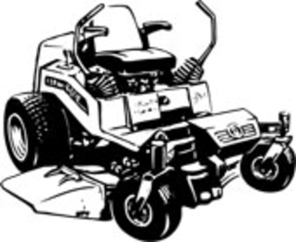 Mowing clipart garden tractor. Lawn mower images image