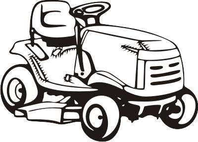 Lawnmower clipart landscaping. Lawn mower pink riding