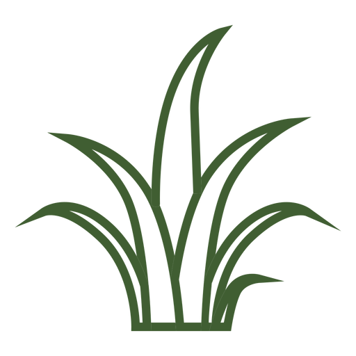 Lawn vector simple. Grass icon transparent png